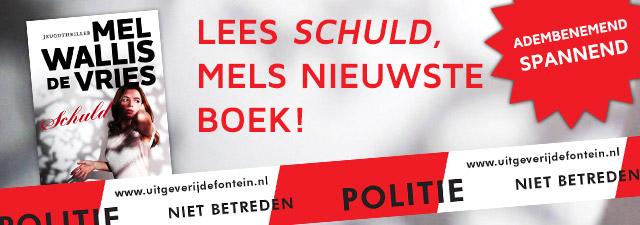 Lees Schuld, Mels nieuwste boek!