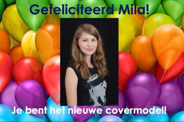 Mila, de winnares van de covermodelwedstrijd