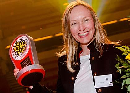 Nieuws - Viervoudige winnares Prijs van de Jonge Jury